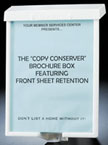 Brochure Box Copy Conserver