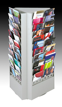 Magazine Brochure Display Rack