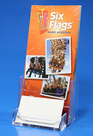 Brochure Holder with Attachment