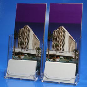 Two Pocket Brochure Display 2BCHA