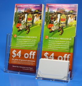 Two Pocket Brochure Display