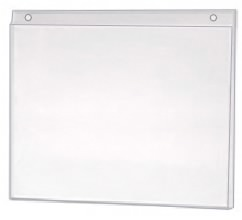 Wall Mount Plastic Tabloid Ad Frame