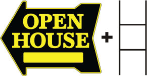 Open House-Arrow with space