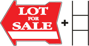Lot for Sale-Arrow w space
