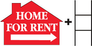 Home for Rent-House-Red print
