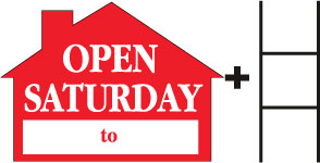 Open Saturday-House-Red print
