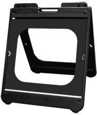 A Frame Signs black